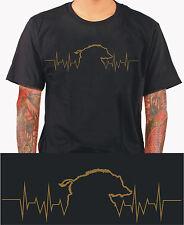 Jäger Wildschwein T-Shirt Jagd jagen Jagdhund Geschenk Revier Hunt Wald m235