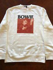 DAVID BOWIE Sweatshirts NEW Licensed & Authentic Sizes XS, S, M, L, XL NWT