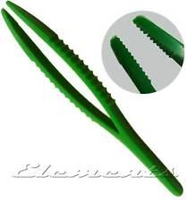 Plastic Tweezers Lightweight Non Magnetic 125mm Craft Jewellers Watch Tool T086
