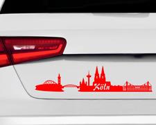 Aufkleber Köln Skyline mehrere Größen Autoaufkleber Autosticker Sticker