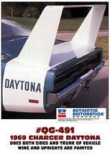 QG-491 1969 DODGE CHARGER - DAYTONA STRIPE KIT - HAS DAYTONA CUTOUT - LICENSED
