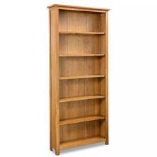 Durable En bois Bibliothèque compartiment Étagère bibliothèque Grand espace FR