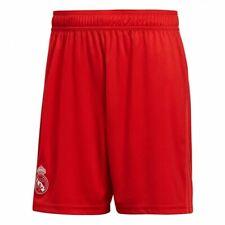 Real Madrid Kit 3rd Shorts 100% Official Adidas Shorts 2018-19 Coral/ Vivid Red