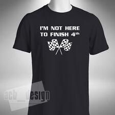 I'm Not Here To Finish 4th Mens T-shirt Formula 1 F1 Red Bull Verstappen