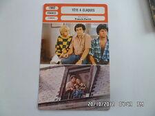 CARTE FICHE CINEMA 1982 TETE A CLAQUES Francis Perrin Fanny Conttencon A.Bessis