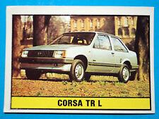 FIGURINA PANINI-AUTO 2000-CORSA TR L-n° 165-NUOVA