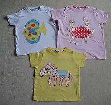 MINI BODEN bébé T-shirt haut 3 6 12 18 24 mois 2 3 4 ans cheval CRABE OU POISSON