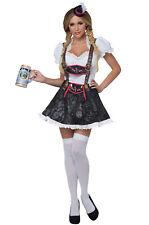 Brand New Flirty Fraulein German Oktoberfest Women Adult Costume