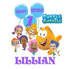 BUBBLE GUPPIES BIRTHDAY IRON ON TRANSFER