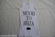 Svedese Casa Mafia Miami per IBIZA Skinny CANOTTA TANK TOP T SHIRT NUOVA UFFICIALE Edm