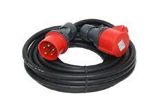 CEE Starkstromkabel 16A 5x2,5mm² Verlängerungskabel 5m/10m/15m/20m/25m/30/40/50m