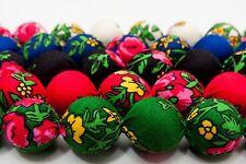 SET necklace + bracelet folk corals HandMade scarf Poland 5 colours etno SLAVIC
