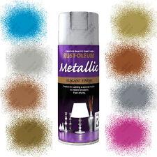 Rust-Oleum Metallic Multi-Purpose Spray Paint Gold Chrome Copper Silver Blue Etc