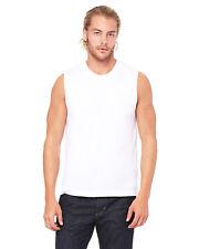 Bella+Canvas Unisex Jersey Muscle Shirt - B3483 - XS thru 2XL