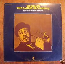 Mingus record album Eric Dolphy candid recordings