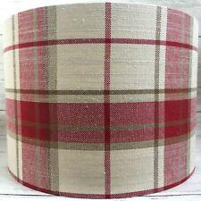 Lampshade Laura Ashley Highland Check Light Shade Table Ceiling Drum HANDMADE