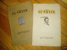 East Junior High School Sunrise Magazines 1919 Erie PA