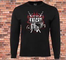 JB's Long Sleeve T-shirt Hot Rod Knight Cool Retro Design