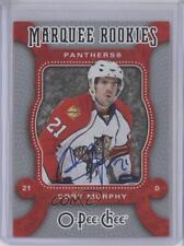 2008 O-Pee-Chee Autographed Buybacks #548 Cory Murphy Florida Panthers Auto Card