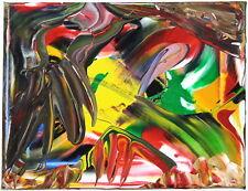 Gemälde Bild Kunstwerk - Acryl Unikat - abstrakt modern bunt naiv - Sammlerstück