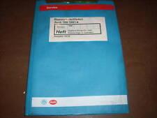 Werkstatthandbuch Audi 100 C 4 Digifant Einspritzanlage