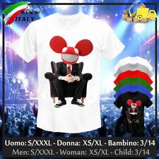 "T-shirt ""DEADMAU5"" Disco Party Elettro Techno Pop House DJ Ibiza, Collez. 2020!"