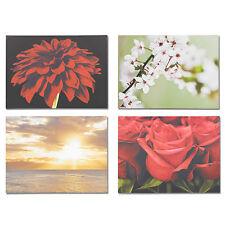 "Large Canvas Wall Art Picture Print Decoration Floral Flowers Design 23"" X 32"""