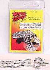 Hoppin Hydros Chrome Chain Steering Wheel License 1/24