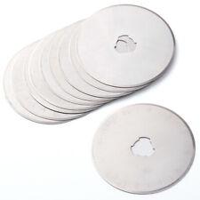 10pcs 28/45mm Rotary Cutter Spare Blades, Fits All: OLFA, DAFA, FISKARS MF