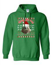 Merry Slothmas Sloth Lazy Animals Ugly Christmas Funny DT Sweatshirt Hoodie