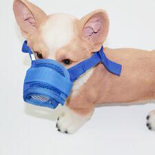 Transpirable Ajustable Anti Mordedura Mascota Perro Máscara de Boca de Perro