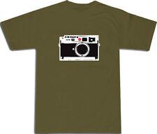 Leica M8 design Cool T-Shirt S, L & XL # MILITARE VERDE