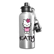 Hello Kitty Personalizzato Bambini/Bevande/Sport per Bambini Scuola Pranzo Bottiglia D'acqua