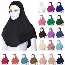 2PCS Women Muslim Underscarf Hijab Islamic Headwear Scarf Turban Ninja Cap Hat