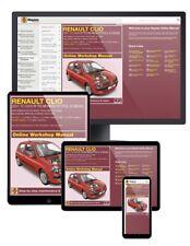 Renault Clio Essence & Diesel (Juin 2001-2005) Y à 55 Haynes Manuel En Ligne