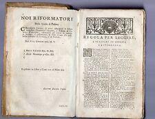 vocabolario italoa-spagnolo - lorenzo franciofini -  1761