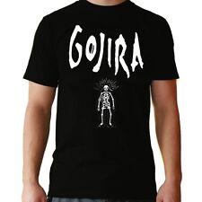 Camiseta hombre Gojira T shirt men Hard Rock Metal Heavy Metalhead