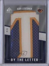 2007-08 SP Game Used Edition By the Letter BL-KL Kari Lehtonen Atlanta Thrashers