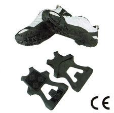U6-809 Anti-slip Ice Snow Traction Cleats Slip-on Shoe Spikes M L XL Crampons