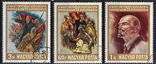Hungary 1967 Russian October Revolution 50th Anniversary CNH Set SC # 1858-1860