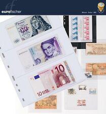 Leuchtturm Optima-Banknotenhüllen 10er Pack verschiedenen Varianten glasklar
