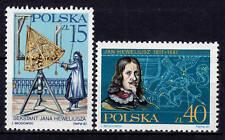 POLAND 1987 **MNH SC#2827/28 JAN HEVELIUS, Astronomer