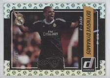 2015 Panini Donruss Defensive Dynamos Green Soccer Ball #8 Pepe Real Madrid Card