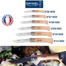 Véritables couteaux OPINEL VRI Lame acier inoxydable fabriqués en FRANCE
