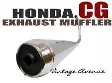 BRAND NEW HONDA CG110 CG125 COMPLETE EXHAUST MUFFLER