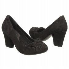 Born Marciana Black Suede Pump Shoe