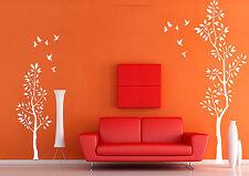 Bm13 murales wall sticker árbol ramas pájaro pared Pegatina 40 colores para Wah