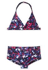 Schiesser Aqua lf40+ Niñas Bikini con Soporte De Cuello Set 140 152 164 176