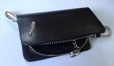 Genuine Leather Car Key Chain Ring Case Holder for Jaguar , Uk Seller