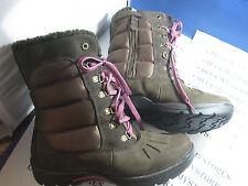 Nib New Timberland Kids Mallard Waterproof Tall Leather and Fabric w/ Side Zip